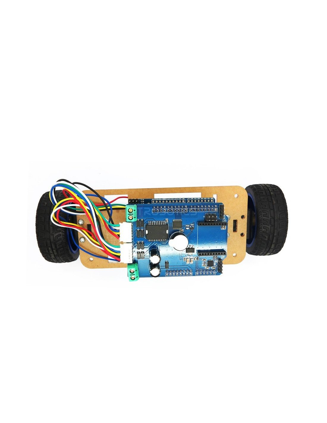 Wheel self balancing upright rover car arduino robot