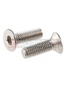 Countersunk Hex Socket Screw M3 12mm