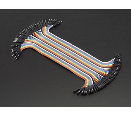 Premium Female/Male Jumper Wires 200mm - Pack of 40