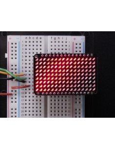 LED Charlieplexed Matrix - 9x16 LEDs - Red Adafruit