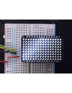LED Charlieplexed Matrix - 9x16 LEDs - White