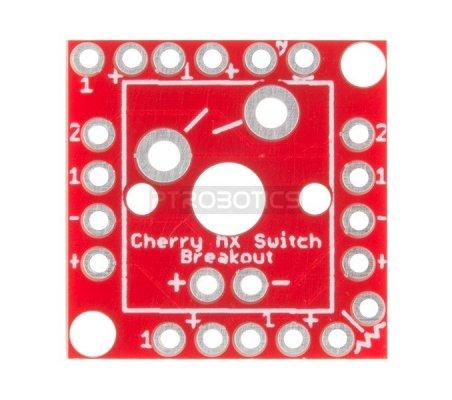 Cherry MX Switch Breakout | Botões e Teclados | Sparkfun