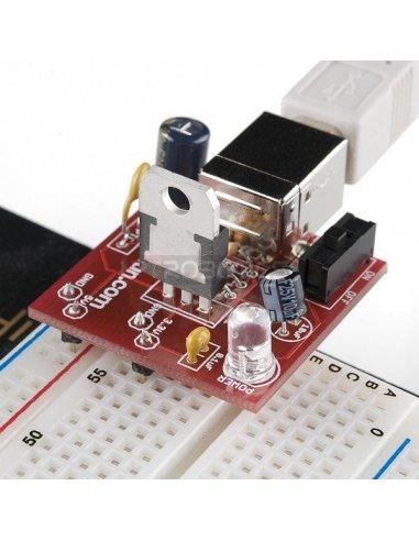 Breadboard Power Supply USB 5V/3.3V