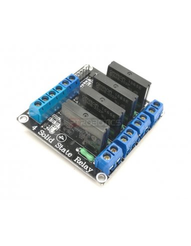 4 Channel Solid State Relay Module | Relés |