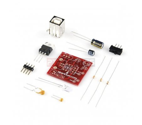 Breadboard Power Supply USB 5V/3.3V | Alimentação |