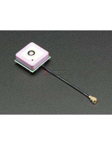 Passive GPS Antenna uFL - 15mm x 15mm 1 dBi gain Adafruit