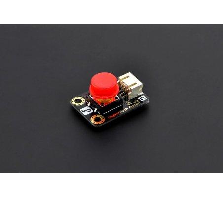 Gravity: Digital Push Button Red | Botões e Teclados | DFRobot
