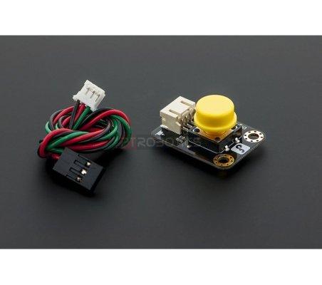 Gravity: Digital Push Button Yellow   Botões e Teclados  