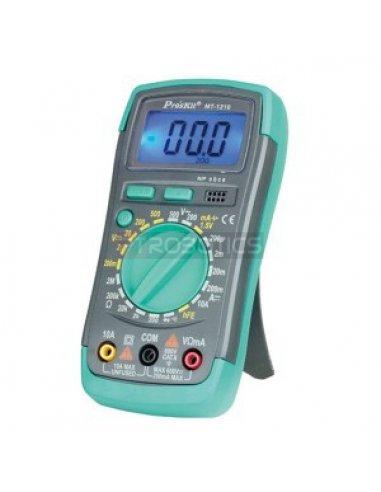 Proskit MT-1210 3-1/2 Digital Multimeter   Multimetros   Proskit