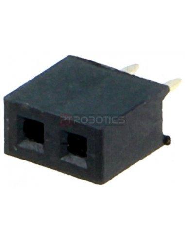 PCB Socket 2Pin 2mm Single Row   Headers e Sockets  