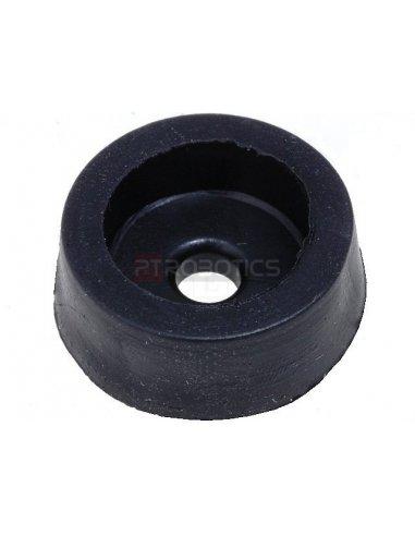 Rubber feet 14x5mm Black