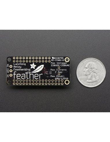 Adafruit Latching Mini Relay FeatherWing