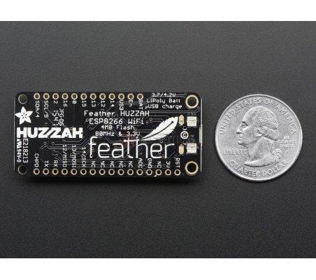 Adafruit Feather HUZZAH with ESP8266 WiFi Adafruit