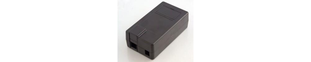 Caixas para Arduino | preto | branco | transparente