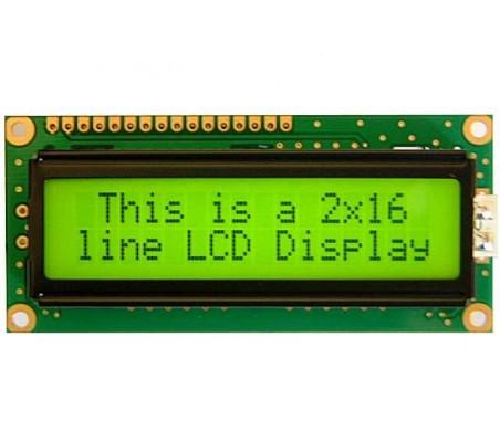 LCD Alfanumerico