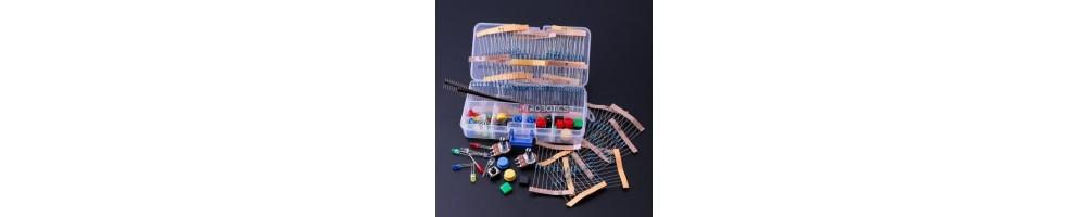 Kits de componentes PTRobotics | Projetos | Electrónica |