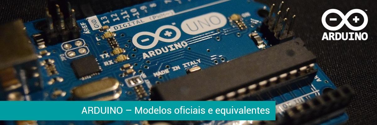 Arduino - Modelos Oficiais - Shields - Modelos Equivalentes