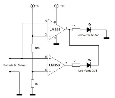 logica-microcontrolador-LM358-ptrobotics