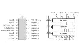Descodificador BCD para 7 Segmentos - 451